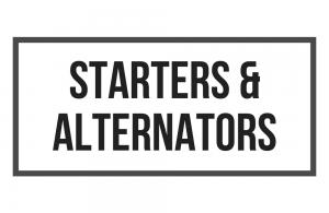 Sarasota FL starters, alternators, starting system repair